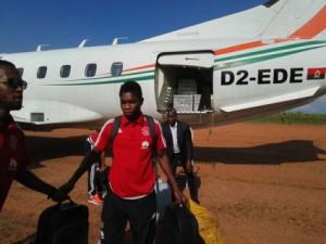 Ghanaian defender Lawrence Lartey arrives in Angola with Ajax Cape Town ahead of Sagrada Esperança Confederation Cup match