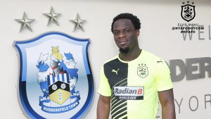 VIDEO: Ghanaian forward Elvis Manu discusses his move to Huddersfield Town