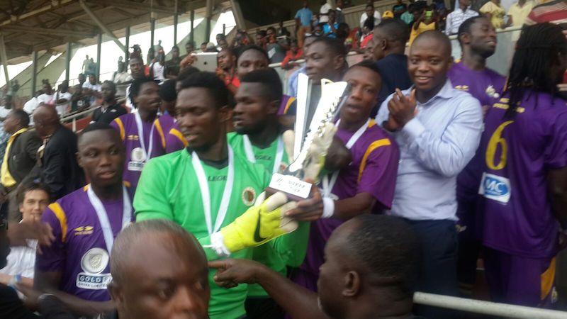 Super Cup - Match Report: Medeama 1-0 AshantiGold - Bernard Ofori wins coveted trophy for Mauves
