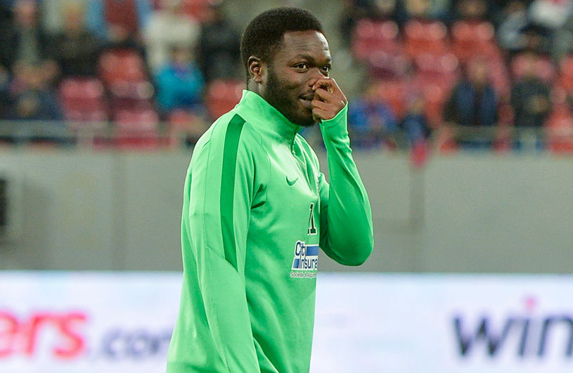 VIDEO: Muniru Sulley dances to release tension in camp ahead of Steaua Bucuresti league clash