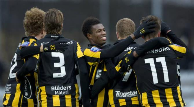 Ghana duo Nasiru & Abubakari Mohammed Swedish side Hacken round up pre-season with heavy win over rivals Falkenbergs