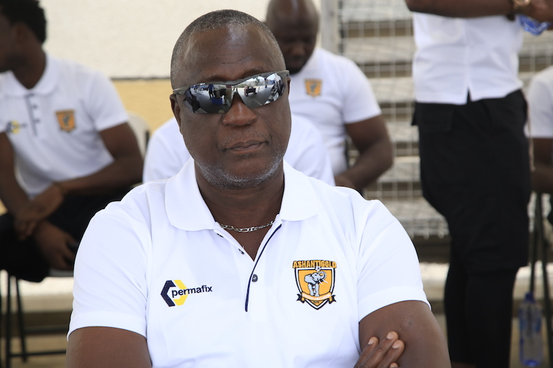 Furious Bashiru Hayford announces he'll quit coaching at the end of season