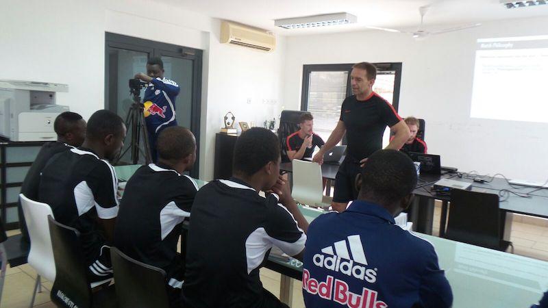 Red Bull Salzburg officials train WAFA SC coaches on modern trends
