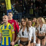 Dutch side RKC Waalwijk beats Ghana FA, replace child mascots with LINGERIE MODELS