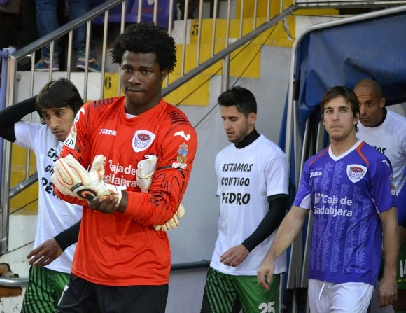 Ghana goalkeeper Razak Brimah tastes defeat on suspension return for Cordoba