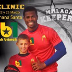 VIDEO: Ghana goalkeeper Razak Brimah to organize clinic for kids in Cordoba next month