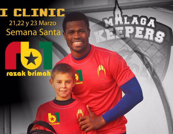 VIDEO: Ghana goalkeeper Razak Brimah to organize clinic for kids in Cordoba next month