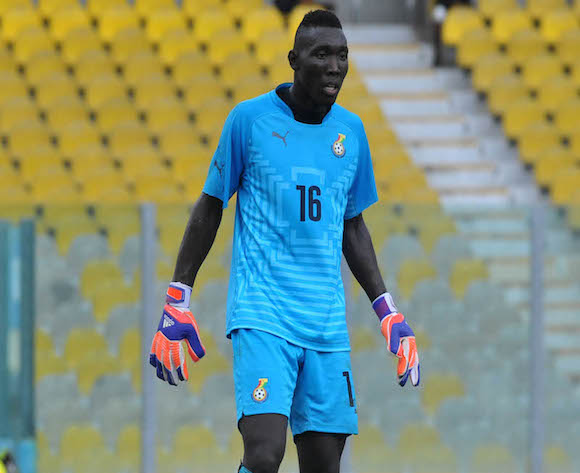 Richard Ofori of Ghana. at the U-23 African Championship 2015 Qualifiers ©Christian Thompson/BackpagePix