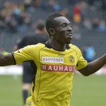 Ghanaian striker Samuel Afum joins Swiss second-tier side Xamax on loan