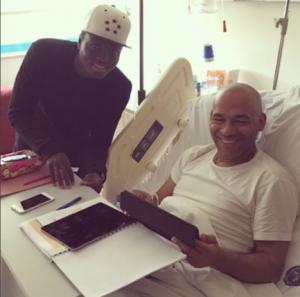 Ghana defender Samuel Inkoom visits ailing Antalyspor coach Jose Ferreira