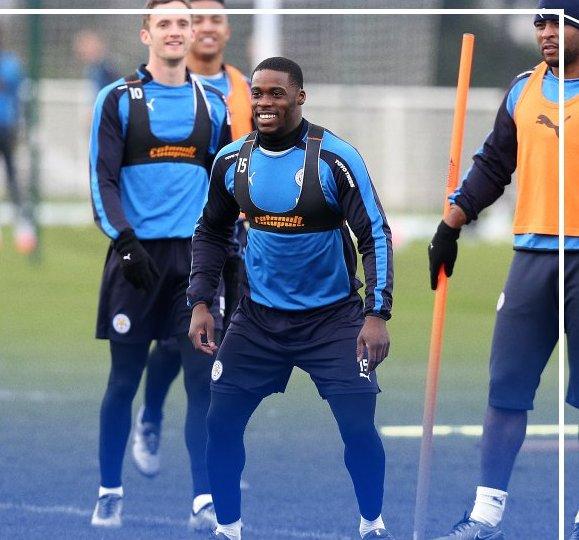 VIDEO: Watch Jeffrey Schlupp and Daniel Amartey in training with Leicester City
