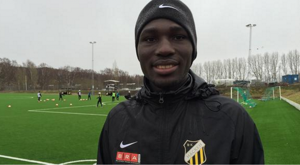 Baba Mensah Onloan Baba Mensah to mark BK Hacken debut next Monday