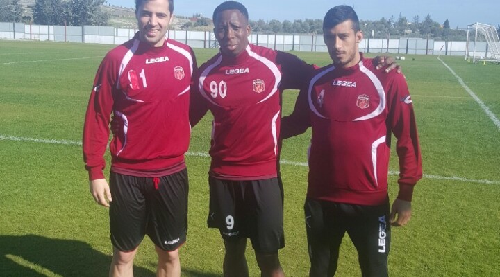 Experienced Ghanaian forward Chris Dickson strikes winner for Ermis in Cyprus