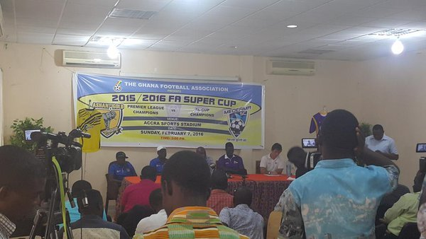 All set for 2015/2016 curtain-raiser- AshantiGold face Medeama in Super Cup
