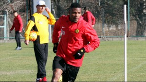 Free agent Ghana defender Jerry Akaminko being trackd by Turkish side Besiktas