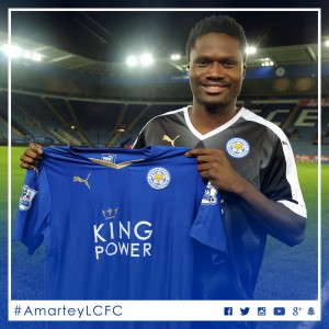 Ghana defender Daniel Amartey set for Leicester City debut today in Man City clash