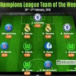 Chelsea defender Baba Rahman named in the UEFA Champions League Team of the Week