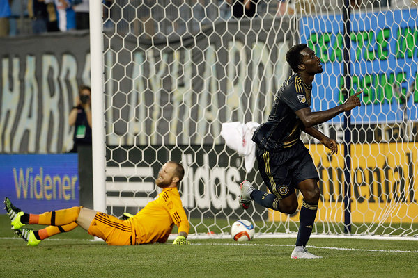 Ghanaian striker CJ Sapong signs three-year extension with Philadelphia Union