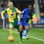 Ghanaian duo Amartey, Schlupp in action as Leicester City clinch crucial win