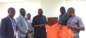 MP for Okere Constituency Hon. Dan Botwe pledges support for Premier League newcomers Dreams FC
