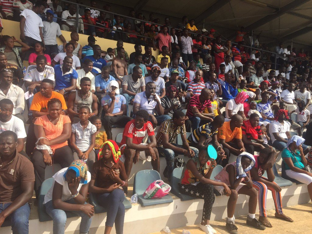 Capacity crowd as Kotoko played WAFA in season opener, league shows signs of revival