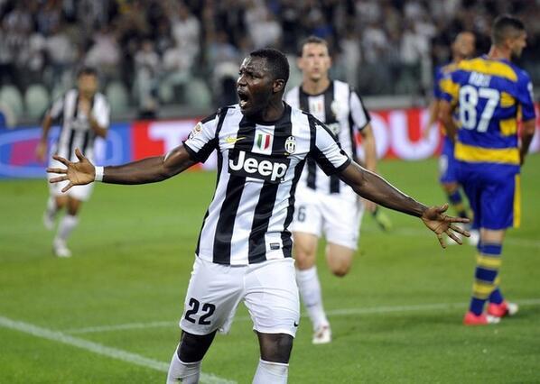 Ghana midfielder Kwadwo Asamoah returns to Juventus training today after injury recovery