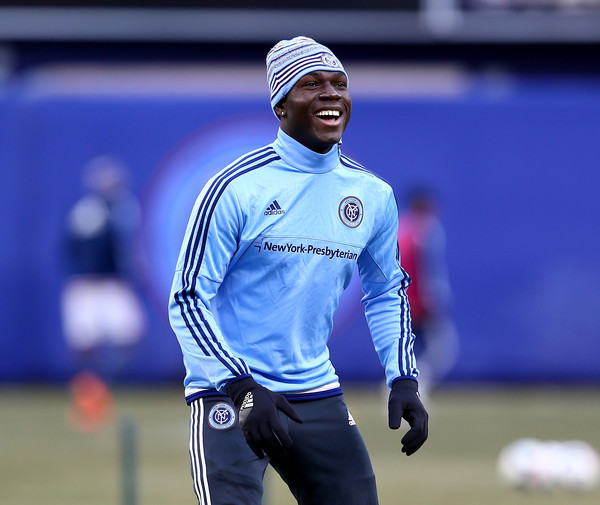 VIDEO: New York City FC star Kwadwo Poku working his socks off in pre-season