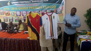 PHOTOS: Jerseys of the sixteen teams for the 2015/16 Ghana Premier League