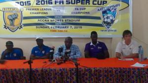 PHOTOS: Launch of 2016 Super Cup between Ashantigold and Medeama