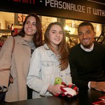 PHOTOS: Hundreds of AC Milan fans 'meet & greet' ace midfielder Kevin-Prince Boateng in Milan store