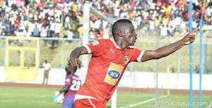 Asante Kotoko striker Obed Owusu bemoans Amed Toure's departure
