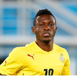 Ghana striker Majeed Waris axed from Lorient squad after clashing with coach