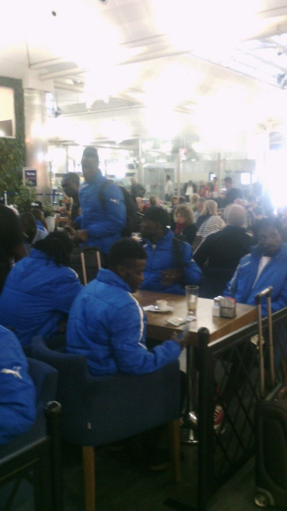Photos: Medeama arrive in Tunisia ahead of Al Ittihad clash