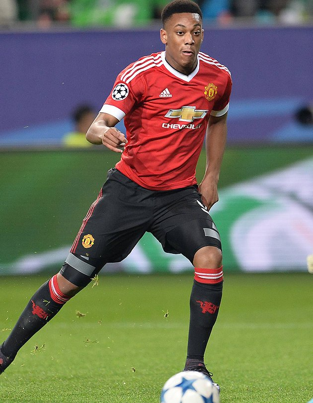 Man Utd young gun Martial: I prefer playing up front but wing is ok too