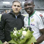 Joseph Aidoo named man-of-the-match in KRC Genk win against Zulte Waregem in Belgium