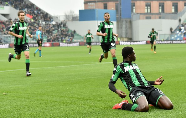 Alfred Duncan struck classy finish for Sassuolo