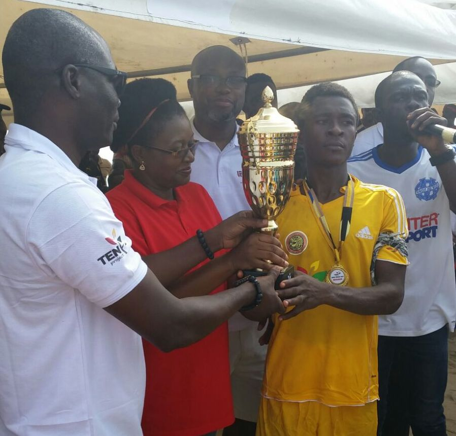 PHOTOS: Jomoro shock Elembele to win inaugural Beach Soccer Inter-Districts Gala at Baku