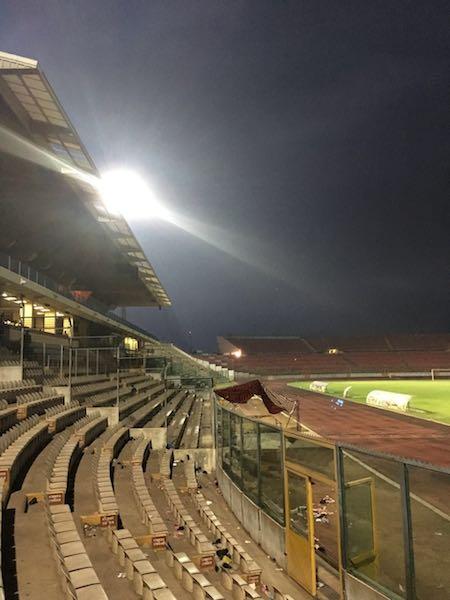 Baba Yara Stadium floodlights