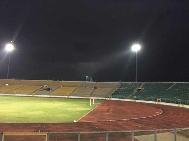 PHOTOS: Baba Yara Stadium floodlights tested for historic 'Friday Night' Ghana Premier League clash