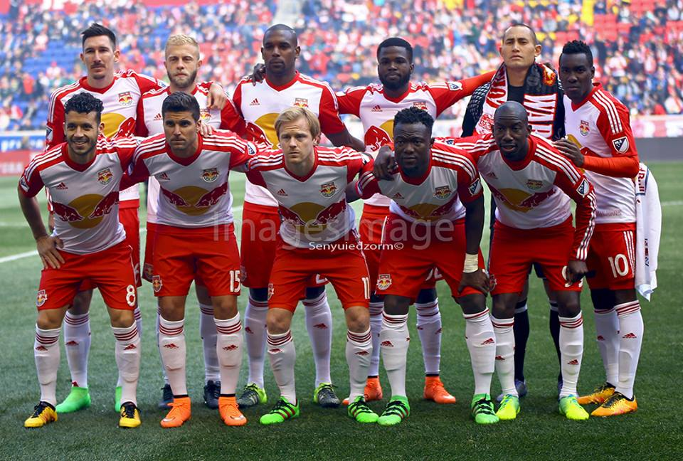 The entire Red Bulls team