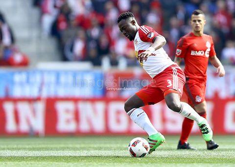 PHOTOS: Ghana international Gideon Baah's impressive debut for New York Red Bulls