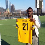 Former Eleven Wise midfielder James Bissue signs for American lower side Pittsburgh Riverhounds
