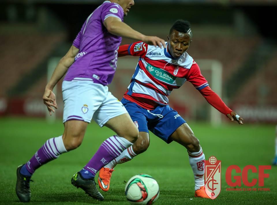 Clifford Aboagye in action for Granada B