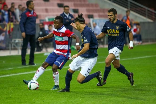 Clifford Aboagye scored for Granada B