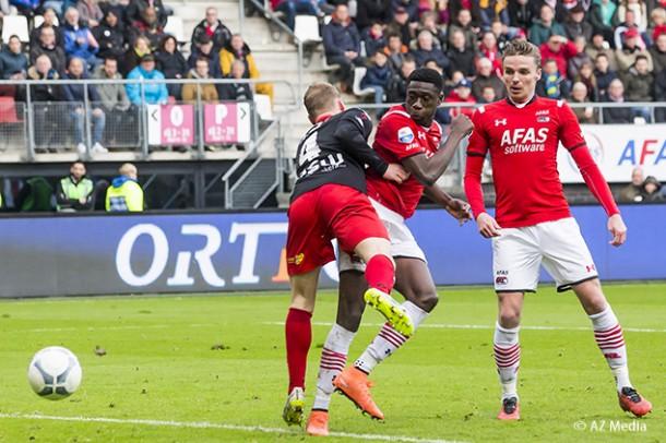 Derrick Luckassen scored for AZ in the Netherlands