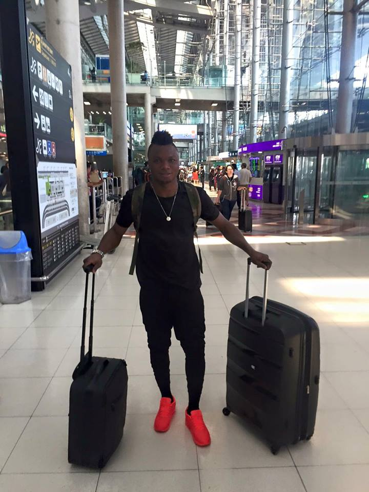 Dominic Adiyiah remains in Thailand