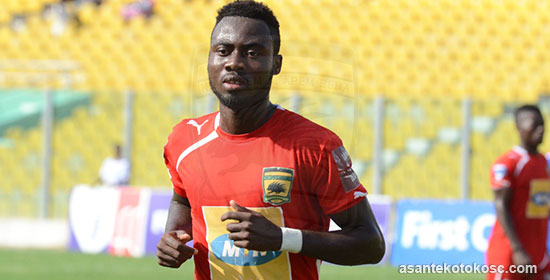 Defender Eric Donkor interested in signing new contract with Asante Kotoko