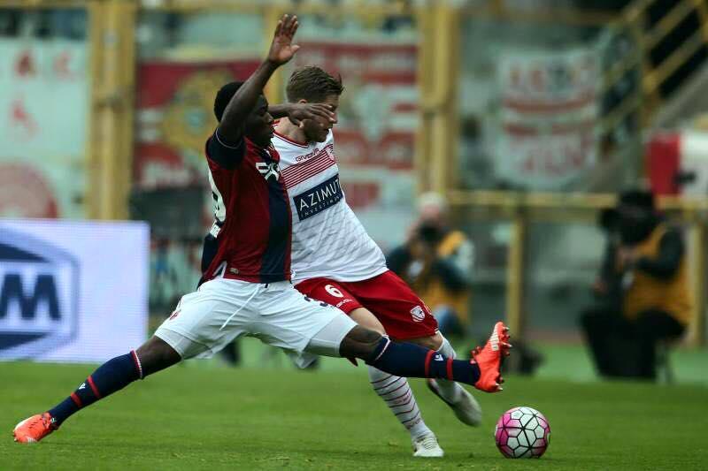 Donsah in action against Carpi