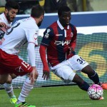 Midfielder Godfred Donsah named in Bologna squad to face suitors Torino in Serie A