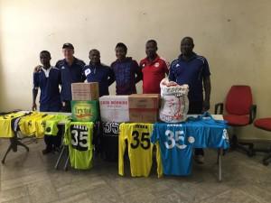 WAFA show touching magnanimity as they donate to crocked Kotoko goalkeeper Felix Annan
